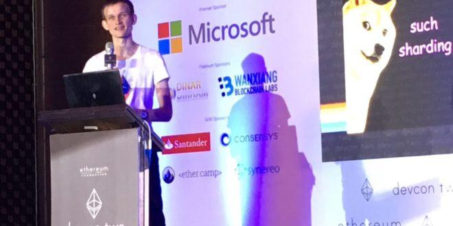 Vitalik Buterin afirma na conferência de Xangai que blockchain Ethereum não é Brincadeira