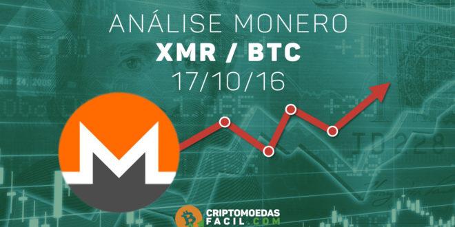Análise Técnica Monero – XMR/BTC – 17/10/2016