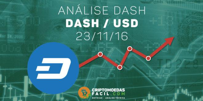 Análise Técnica Dash – DASH/BTC – 23/11/2016