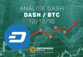 Análise Técnica Dash – DASH/BTC – 12/12/2016