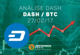 Análise Técnica Dash – DASH/BTC – 27/02/2017