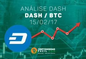 Análise Técnica Dash – DASH/BTC – 15/02/2017