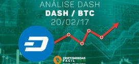 Análise Técnica Dash – DASH/BTC – 20/02/2017
