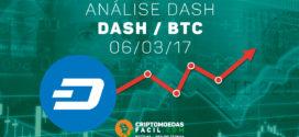 Análise Técnica Dash – DASH/BTC – 06/03/2017