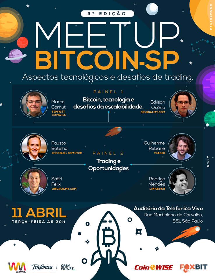 3ª Meetup Bitcoin SP Foxbit