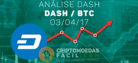 Análise Técnica Dash – DASH/BTC – 03/04/2017