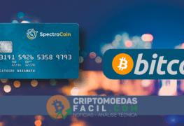 SpectroCoin oferece cartões de débito pré-pagos em Bitcoin para Brasileiros