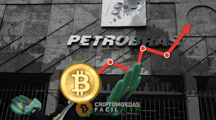 Valor de mercado do Bitcoin supera Petrobras