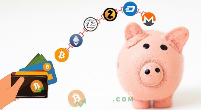 Altcoins e Bitcoins