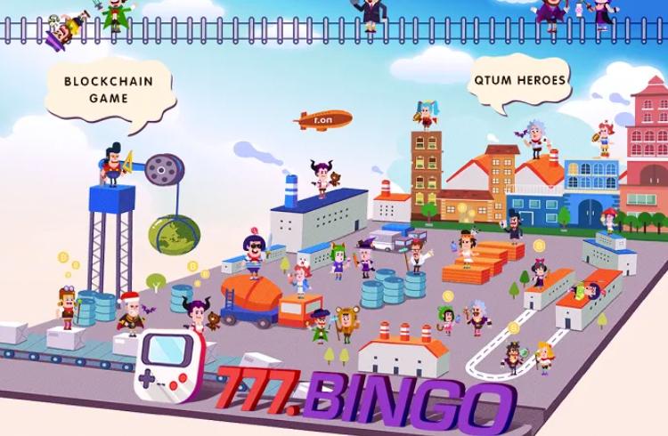 BINGO.FUN: jogo QTUM Heroes lança versão beta