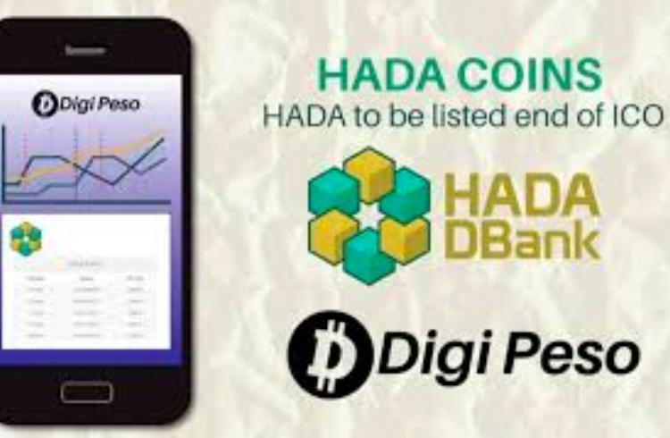 Token da Hada DBank será listada após acordo com a DigiPeso Trading Exchange