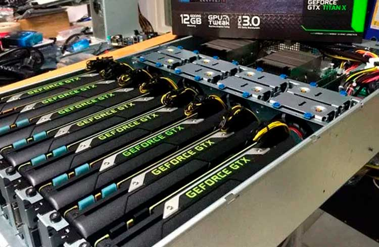 Declínio das atividades de mineração não influencia no crescimento de fabricante de hardwares Nvidia