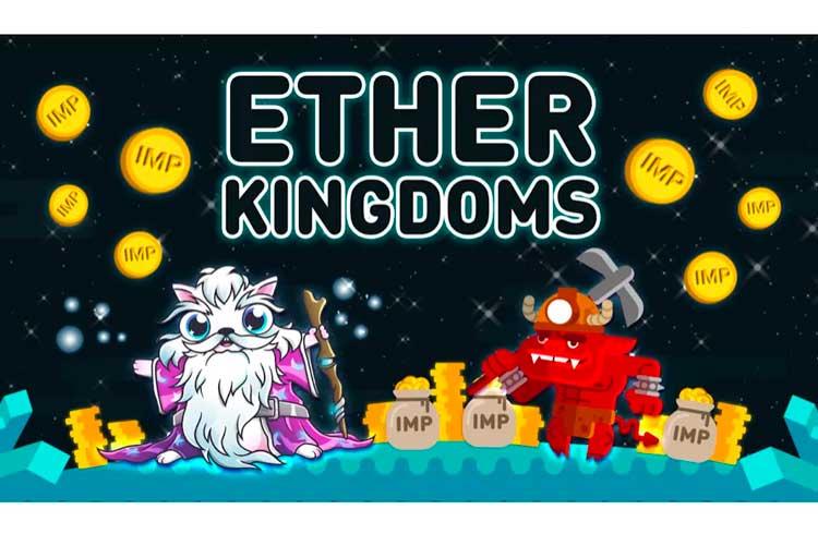 Ether Kingdoms finaliza o teste beta enquanto prepara a segunda rodada do seu Airdrop