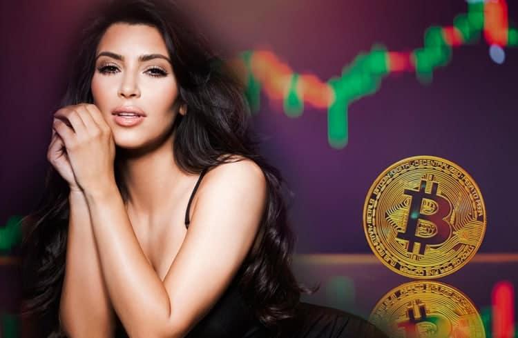 Estrela pop Kim Kardashian conquista seu primeiro Bitcoin