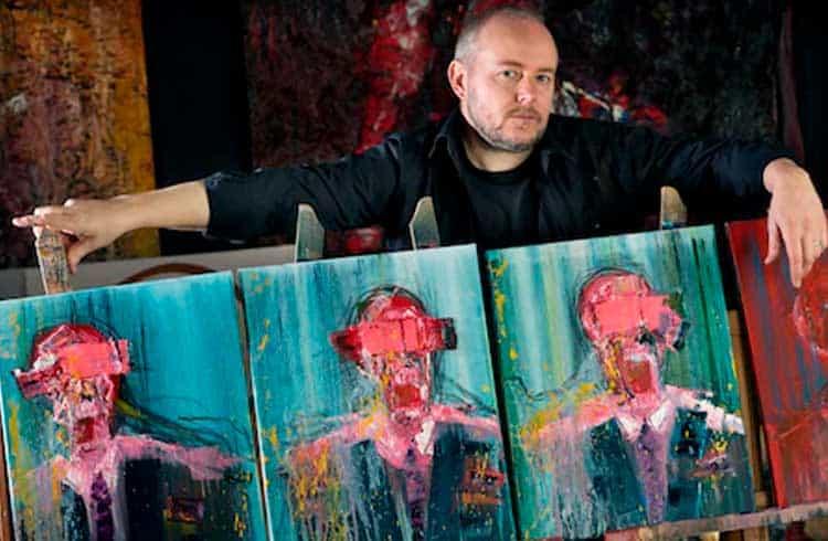 Artista britânico vende coleção inteira por criptomoedas via rede social