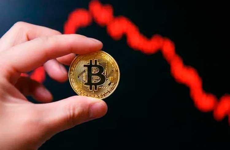 Mercado de criptomoedas em declínio; Stellar, Nem e Zcash são as mais prejudicadas