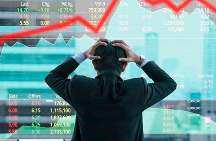 Volume de negócios em exchanges aumenta até 300% com a queda do Bitcoin
