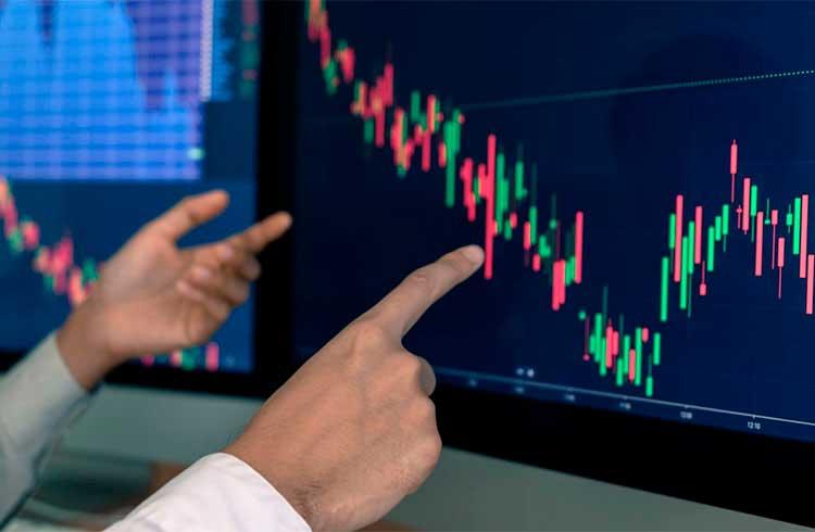 Mercado de criptomoedas cai para menos de US$110 bilhões; Bitcoin SV e Stellar amargam as maiores perdas
