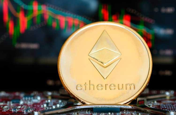 Preço do Ethereum cai 94% em relação à alta recorde de janeiro