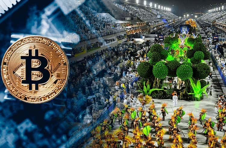 Bitcoin invade samba enredo e alegorias da Imperatriz Leopoldinense no carnaval deste ano