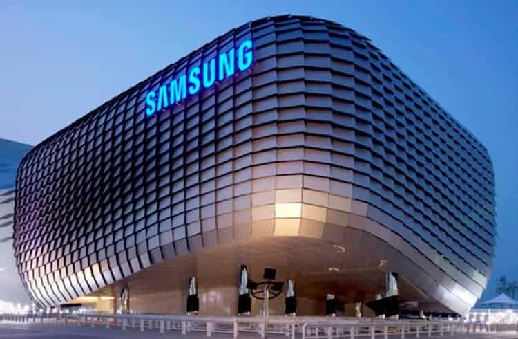 Braço de tecnologia da Samsung revela acelerador de transações em blockchain