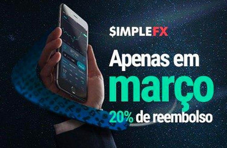 Março Maluco com a SimpleFX! Prepare-se para a promoção de reembolso de US$500!