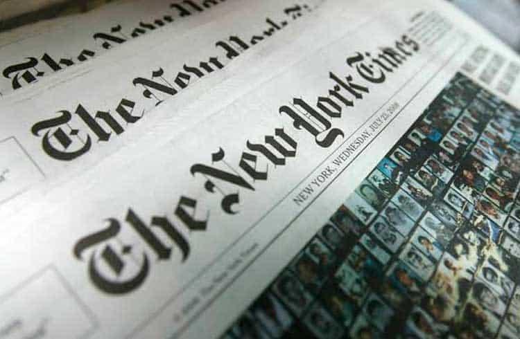 Importante jornal dos EUA New York Times anuncia vaga de emprego relacionada à blockchain