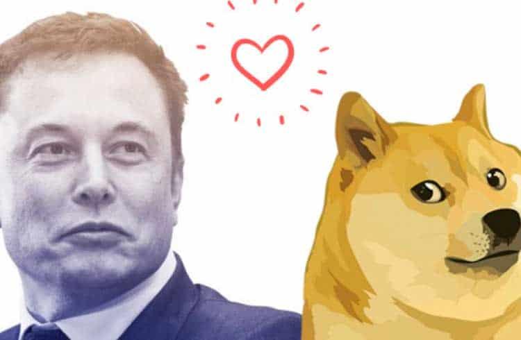 Elon Musk diz que Dogecoin talvez seja sua criptomoeda preferida