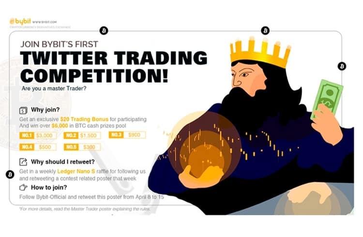 Bybit lança uma competição de traders com premiação para seus usuários