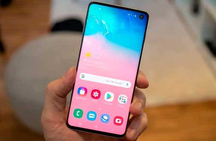 Samsung Galaxy S10 chegará ao Brasil sem carteira de criptomoeda