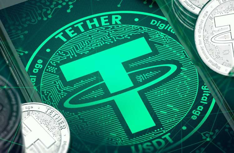 Tether atinge recorde histórico de transações