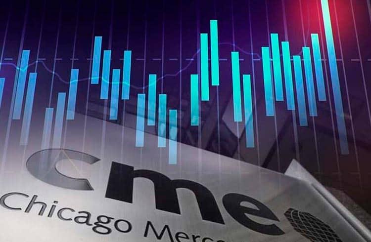 Bitcoin futuro da CME bate recorde de US$1 bilhão negociado