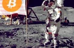 Bitcoin lidera subida do mercado de criptoativos