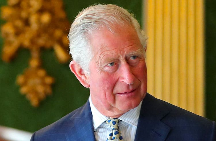 Príncipe Charles faz elogios à tecnologia blockchain durante evento