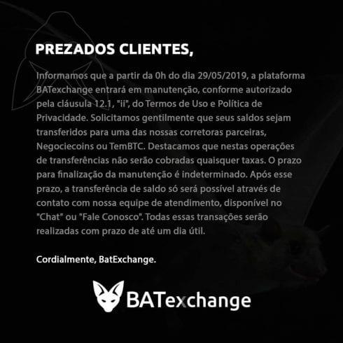 Comunicado-BatExchange