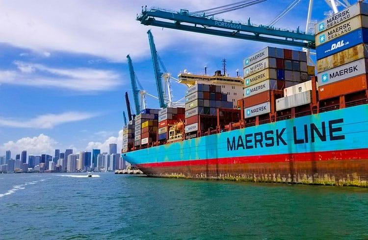 Duas grandes companhias de transporte juntam-se à rede blockchain da IBM e da Maersk