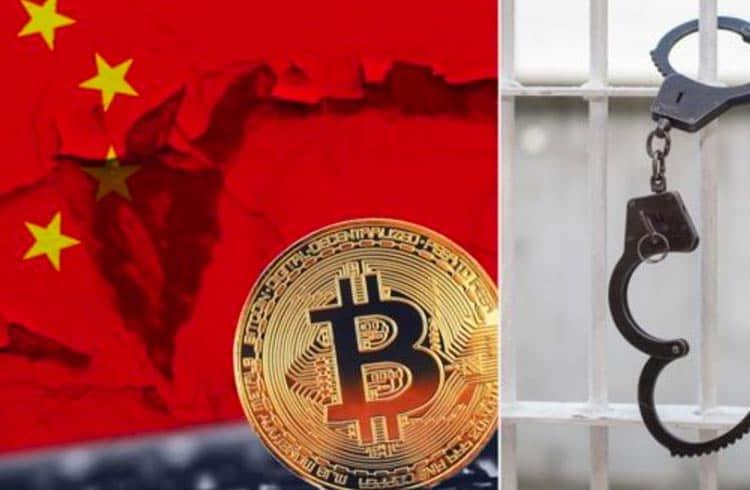 Senhora é presa na China por roubar energia para minerar Bitcoin