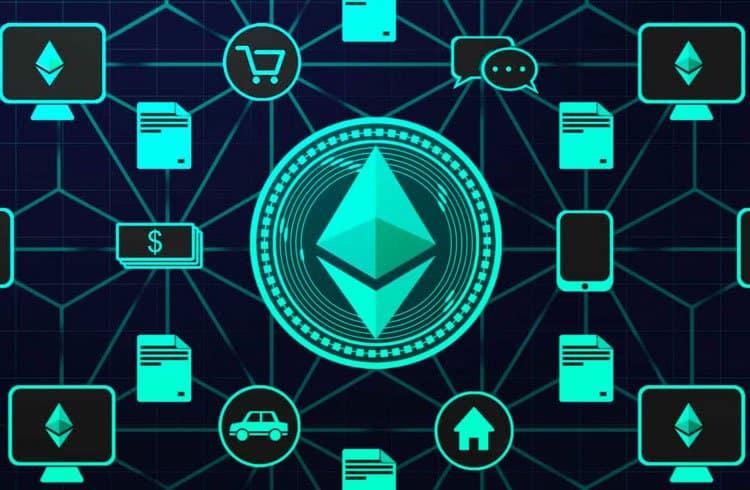 Volume de Ethereum em transações de DApps registra novo recorde