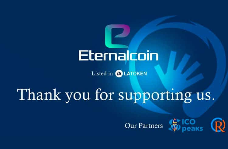 Eternalcoin anuncia oferta inicial na Exchange LATOKEN
