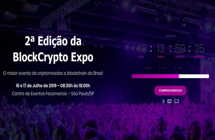 BlockCrypto Expo 2019 reúne especialistas para discutir Bitcoin e blockchain