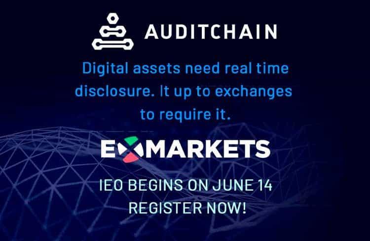 Auditchain anuncia sua plataforma de auditoria contínua descentralizada