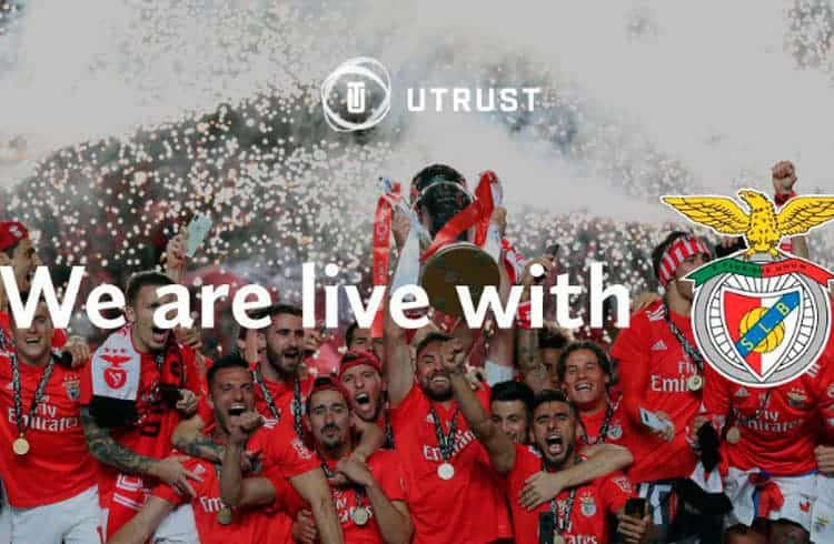 UTRUST, líder em soluções de pagamentos com criptomoedas faz parceria com o club português S.L. Benfica