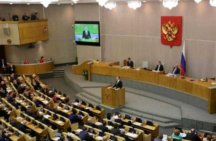Parlamento da Rússia planeja impor multas à mineração de criptoativos no país