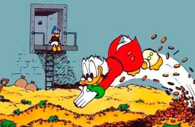 Tio Patinhas resolve investir em Bitcoin em nova história em quadrinhos