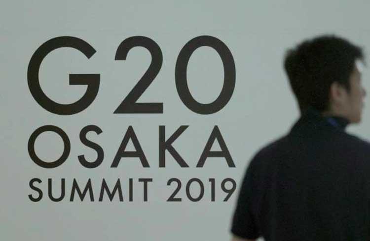 No Japão, líderes do G20 estão divididos sobre a criptomoeda Libra do Facebook