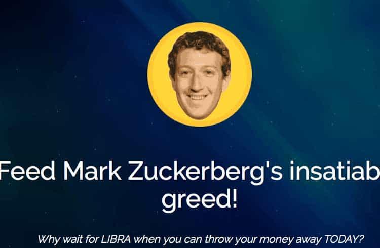 Entre golpes e piadas, sites se aproveitam da repercussão da criptomoeda do Facebook