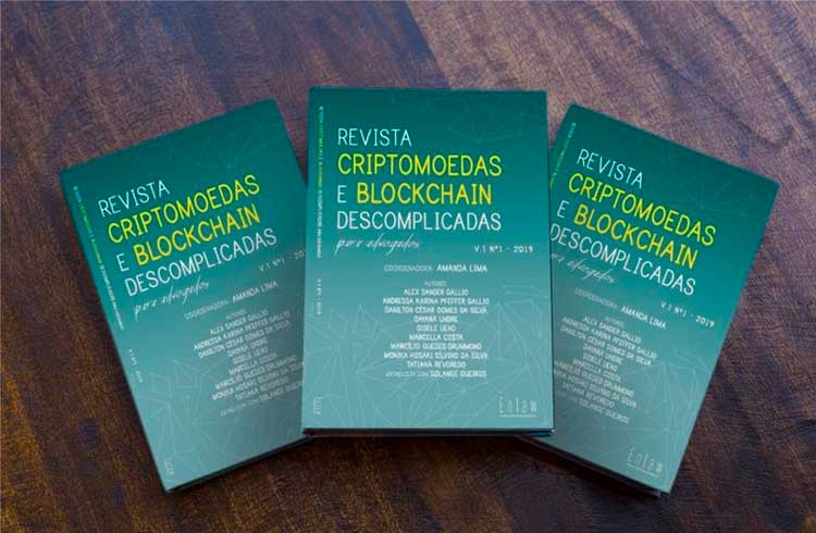 Revista brasileira sobre blockchain e criptomoedas para advogados será lançada este mês
