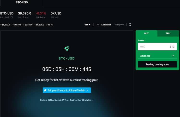 Blockchain.com lança sua própria exchange