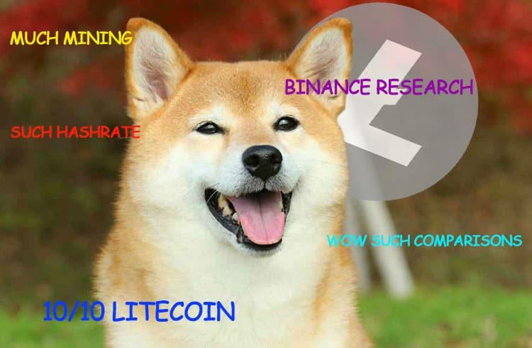Estudo da Binance traça comparações entre Litecoin e Dogecoin