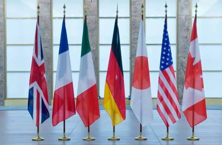 G7 aprova rede alternativa de pagamentos baseada em criptomoedas